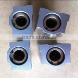 self-lubricating graphite bronze bushes with block