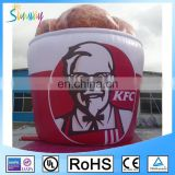 Inflatable Advertising Bowl Model