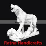 Animal Figurine Marble Statue D009
