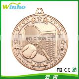 Winho custom medal with zinc alloy or brass