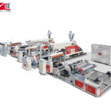 Yilian brand SJFM1100-2000 paper Double sides PE extrusion coating machine