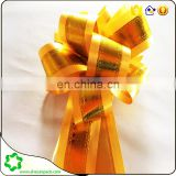 SHECAN gold glitter flower ribbon decorative holiday,party wedding