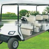 Cheap 6 seaters electric golf cart, Wholesale 6 seater electric sightseeing bus with powerful motor, affordable price