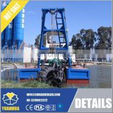 8 Inch Cutter Suction Dredger for sale to maintain water passages