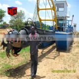 China 24 inch hydraulic cutter suction dredger sale/river digging sand dredger/dredging machine