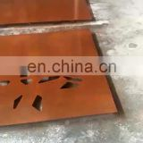 amazon hot sales hotel/room plasma CNC laser cut corten screen/panels