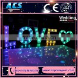 ACS Giant illuminated LOVE letters&attractive large Love 3D Letter