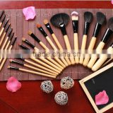 Private label makeup brushes set for Synthetic Hair and Wood Handle,cosmetics makeup brushes free samples