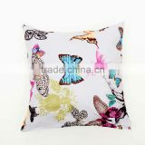 Oriental Butterfly Printed printed classic cushions, Cheap 45 x 45cm cushion cover replacement