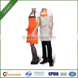 High quality couple set kitchen aprons