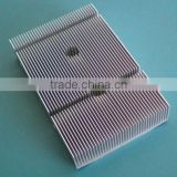China leading manufacturer 6000 series clear anodized aluminum heatsink with cnc machining
