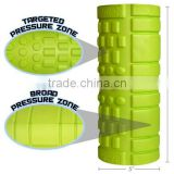 FOAM ROLLER WITH GRID FOR MUSCLE MASSAGE - CHOOSE DIFFERENT STYLES - COLOURS - AID IN YOGA PILATES REHAB CROSSFIT PHYSIOTHERAPY