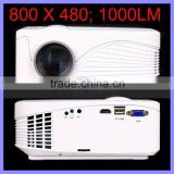 800 x 480 Native Resolution 800:1 Contrast Ratio X9 Projector 1000 Lumens Mini LED Projector