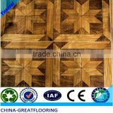 6 mm parquet HDF european white oak laminate flooring