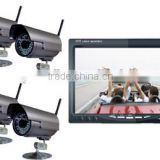 No interference!7 inch digital wireless camera system for car digital cctv camera system(DW-7001-1)