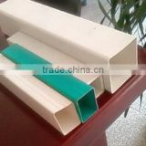 2 Inch Square Plastic Pipe 50mm Pvc Pipe Square, customized processing of plastic parts