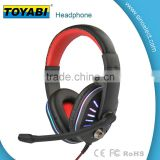 Professional Stereo Headphone Headset 3.5mm with Mic Microphone for Computer PC Laptop Notebook