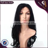 hot sales beautiful human hair full lace wig for comfortable,brazilian hair full lace wig                                                                         Quality Choice