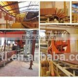 Roofing tile automatic production line with manipulator system group stacking the kiln car