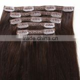 Clip in hair extensions 100 human hair fast shipping and hot selling in alibaba                                                                                                         Supplier's Choice