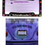 Car License Plate PVC Frames