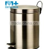 304 stainless steel household dustbin waste bins 5L-BR