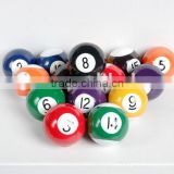 high quality rubber billiards ball