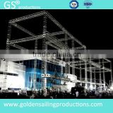flat layer roof trusses quick install aluminum truss for event