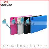 custom logo credit card power bank/mini power bank 2200mah G008 Shenzhen Mobile Power Supply