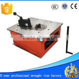 manual wrought iron machine hand scroll bender machine wrought iron machine