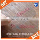 Top selling blank transparent business cards