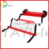 Sports Soccer Flat Adjustable Speed Agility Ladder with Free Carry Bag                                                                         Quality Choice