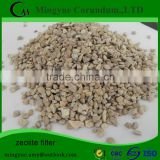 High quality Chemical raw materials 1 3mm zeolite magnetite filter media for water treatment
