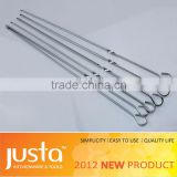 FDA LFGB stainless steel skewer for BBQ tool