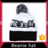 Men's fashion winter custom acrylic knitted beanie hat