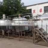 1000L factory brewing equipment Beer can making machine Beer can filling machine for sale