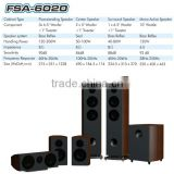 made in china Nice design floorstanding/Center/Surround/Mono Active woofer bass speaker system