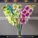 real touch latex artificial cymbidium orchids