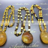 Natural Baltic Amber pendant necklaces size 50-70 grams
