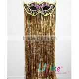 gold shiny metallic curtainWedding Foil Curtain Products from Global Metallic Foil Curtain Suppliers and Metallic Foil