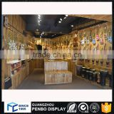 Most popular wooden acrylic guitar display case for guitar