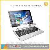 11.6 inch Laptop Computer PC With IPS Screen 1920*1080 Intel CPU 2GB RAM 32GB Dual OS 2in1 Android Tablet PC