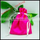 silk brocade jewelry pouches drawstring closure