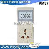 electrical direct current appliances current power monitor test meter digital