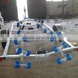 6.5m single axle galvanized boat trailer for sale