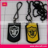 High quality plastic custom dog tag silencer