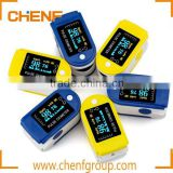 China Manufacture Fingertip Pulse Oximeter Oxymeter Blood Oxygen SpO2 Saturation Monitor OLED Display