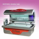 hot sale good and lying tanning bed equipment