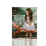 wholesale DIY digital canvas abstract flower acrylic painting by number for bedroom DIY106