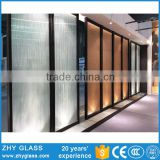 5-19mm Interior Living Room Glass Partition Design